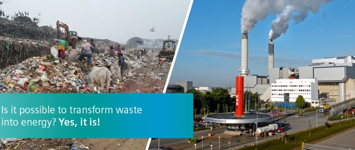 How can waste-to-energy technology help the developing countries?